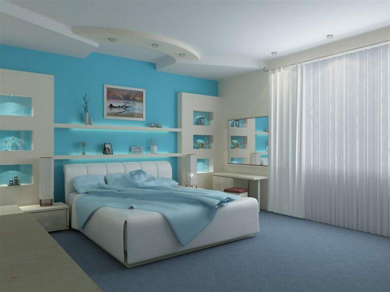 ห้องนอน สีทา
