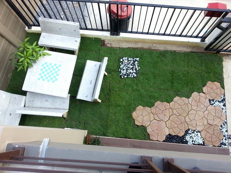 จัดสวนหน้าบ้าน