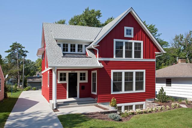 บ้านสีแดงเข้ม