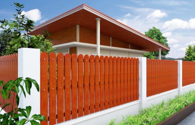 รั้วบ้านไม้เทียม