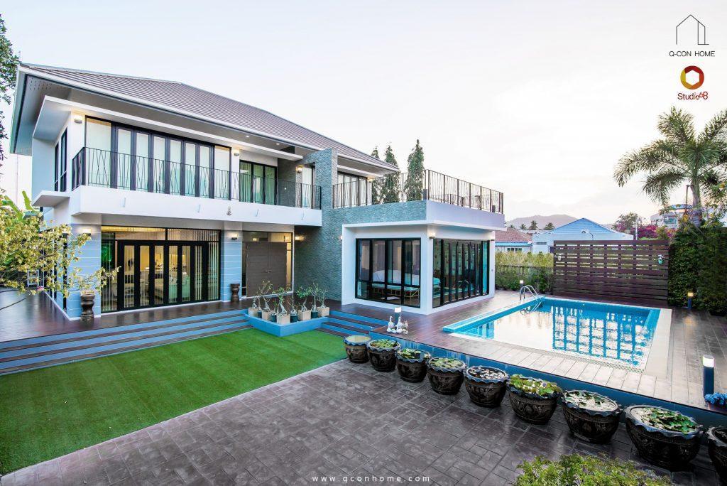 บ้านพร้อมสระว่ายน้ำในฝัน
