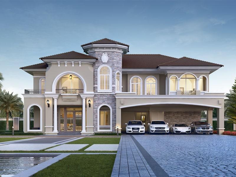 สุดยอดแบบบ้าน modern classic